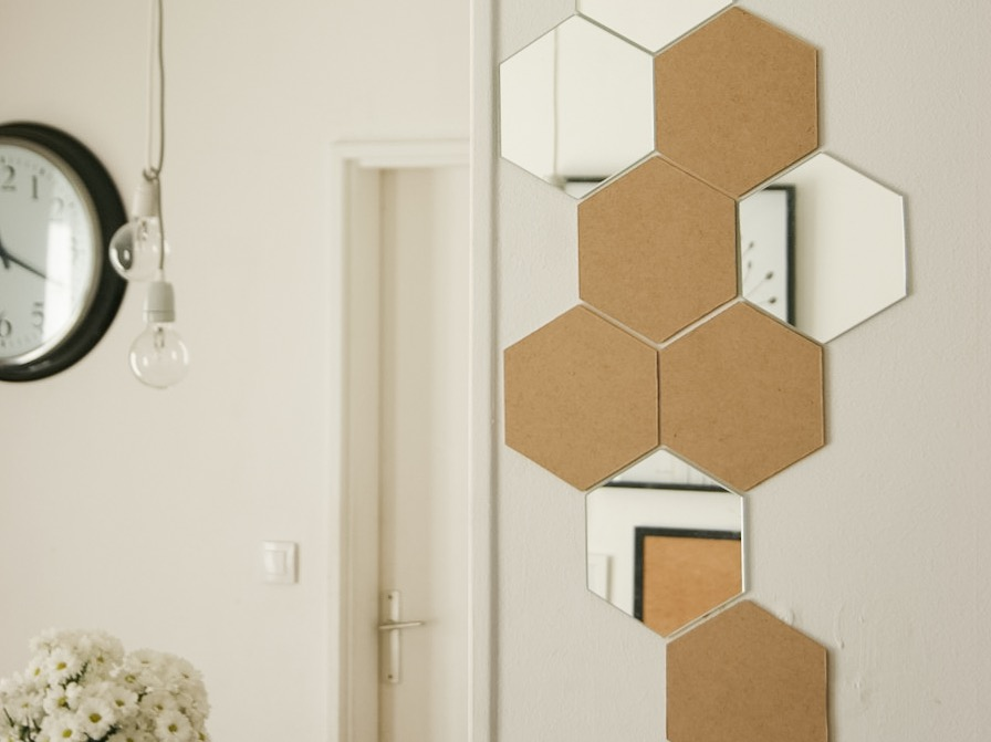 une deco hexagonale le diy