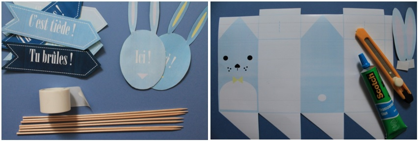 LES PRINTABLES HAPPY EASTER