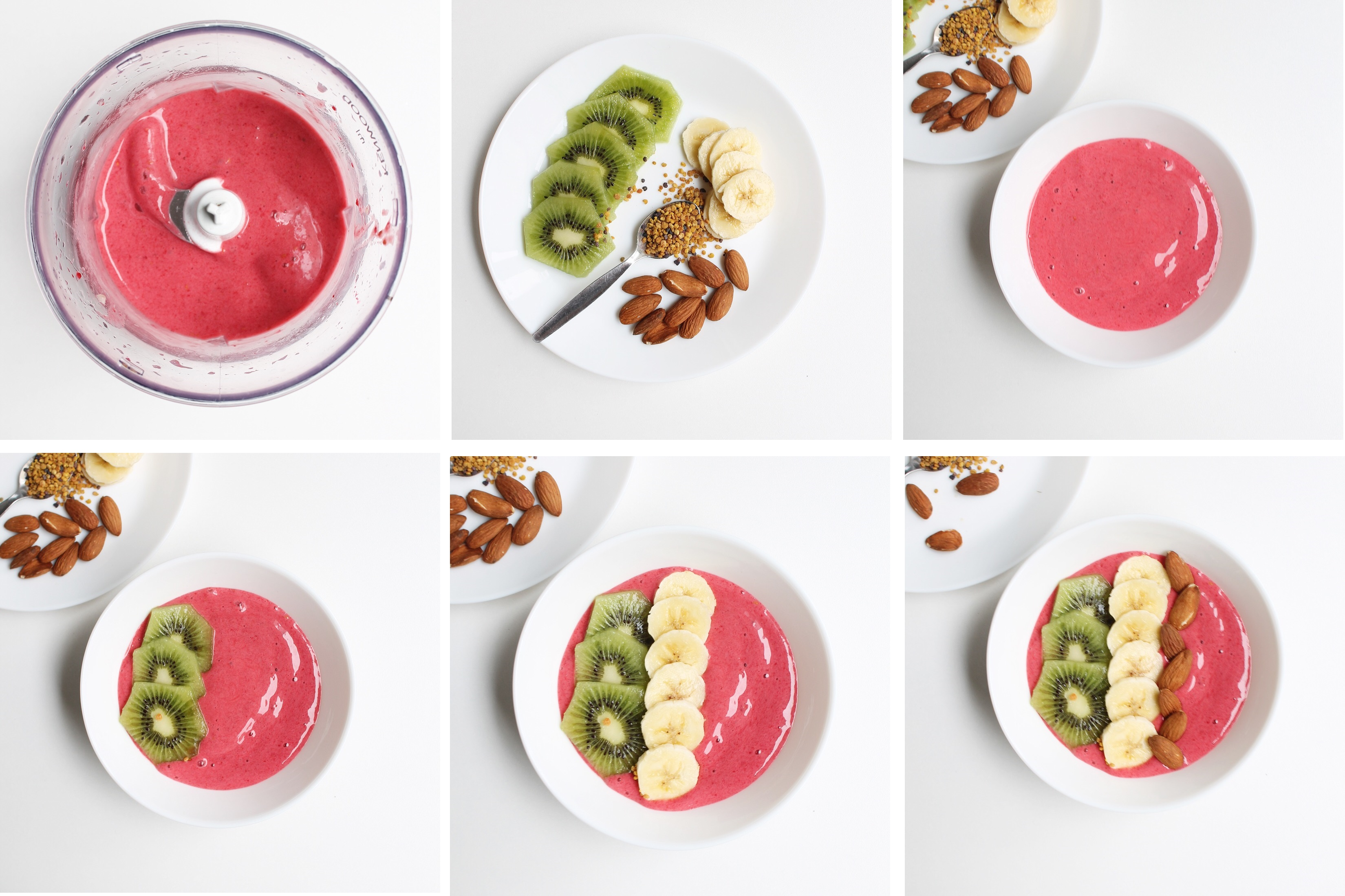 PINK SMOOTHIE BOWL recette facile