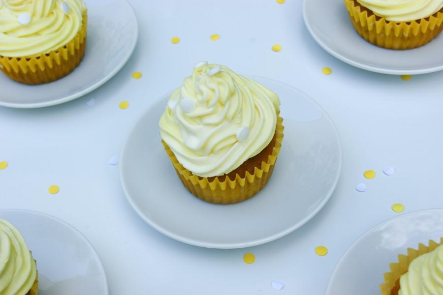 cupcake banane et chocolat