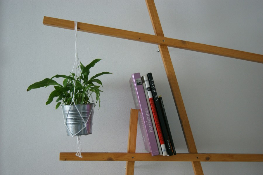 diy pot suspendu