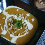 recette soupe butternut et graines de courge grillées