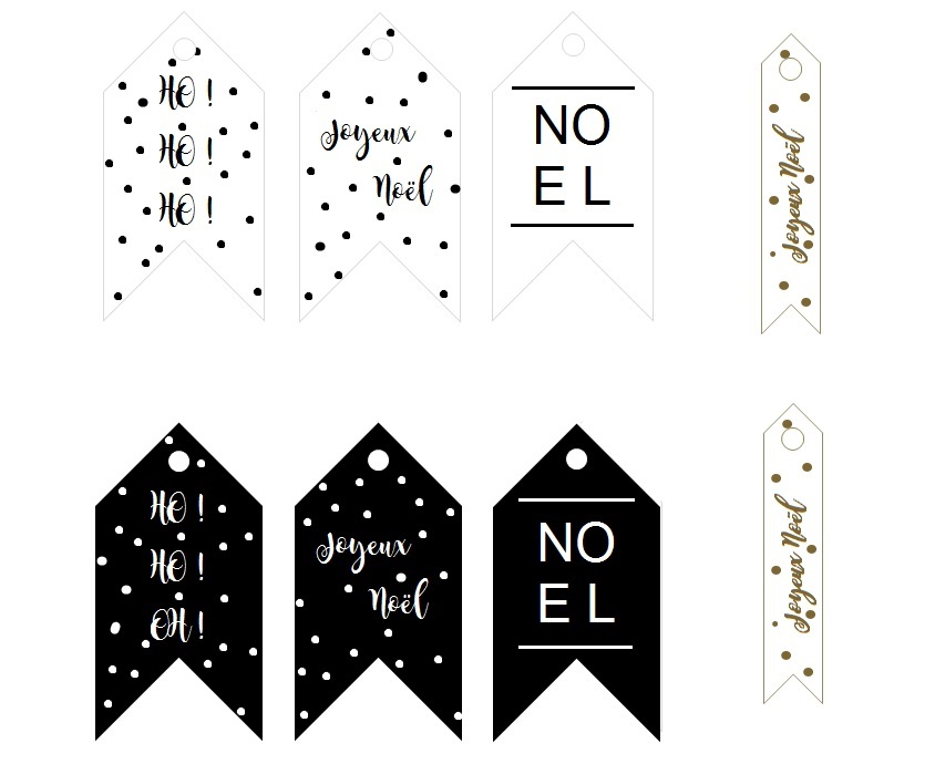 Les étiquettes De Noël A Imprimer Lyg