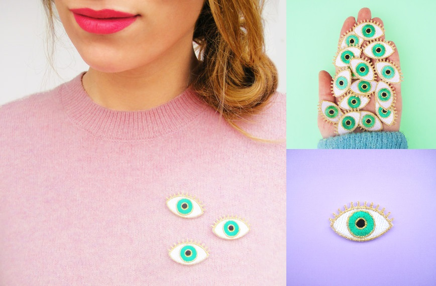 tendance oeil patches