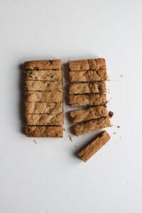 COOKIES STICKS AUX PÉPITES DE CHOCOLAT
