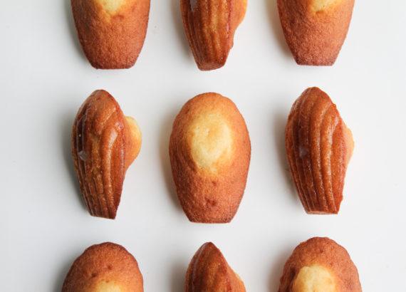 madeleines coeur citron