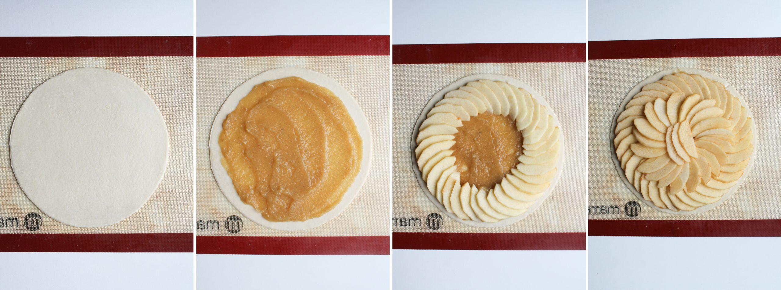 etape 1 tarte fine aux pommes