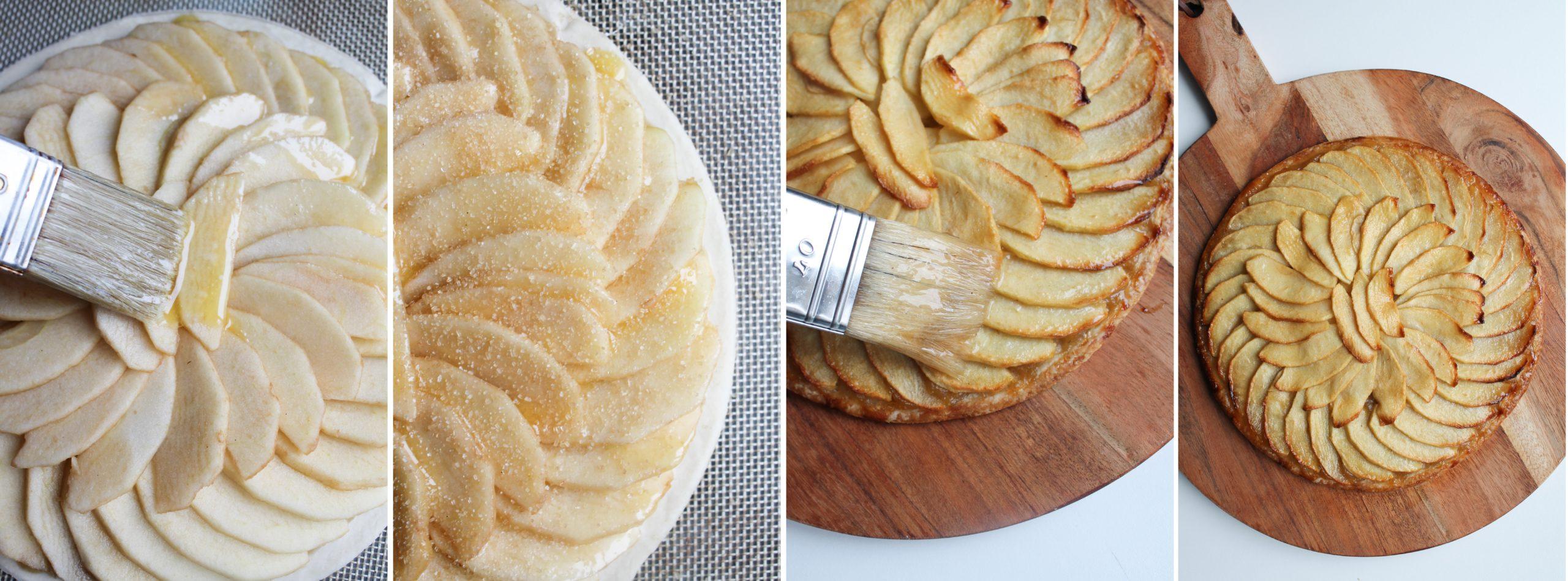 etape 2 tarte fine aux pommes