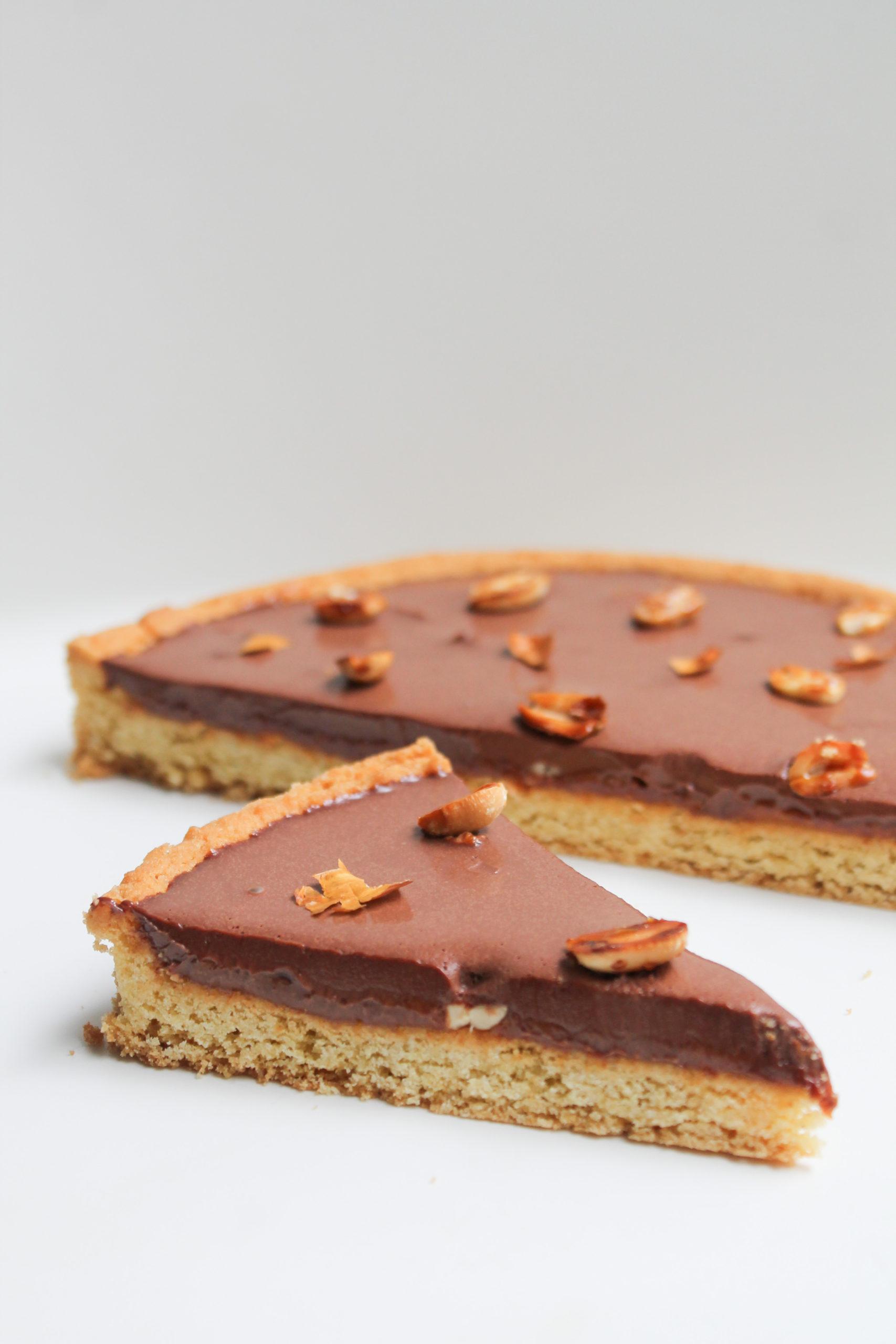 sablé breton chocolat & praliné cacahuète